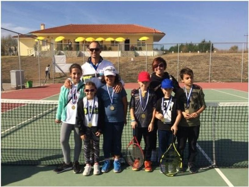 Όμιλος Αντισφαίρισης Αλέξανδρος Βέροιας: 3η θέση η Ανθή Μανωλοπούλου