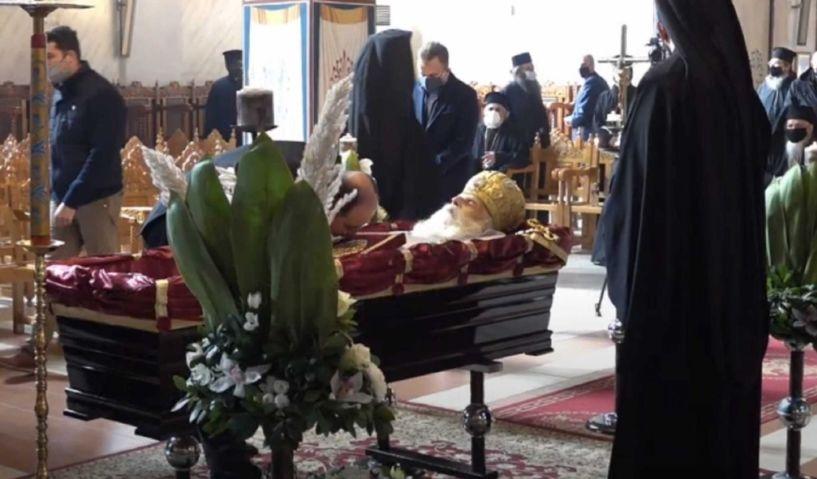 Κιλκίς: Τελευταίο αντίο στον μακαριστό μητροπολίτη Εμμανουήλ
