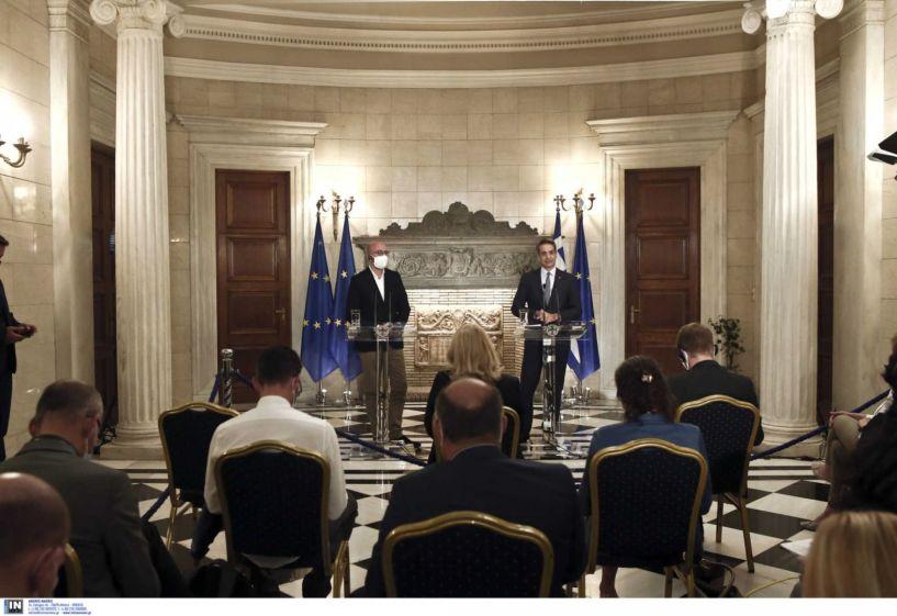 Μητσοτάκης: Άμεσα διερευνητικές επαφές με την Τουρκία αν σταματήσουν οι προκλήσεις