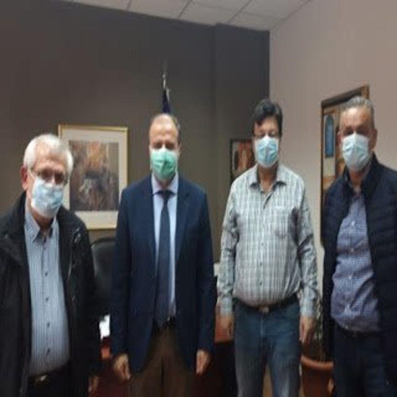 Χρ. Παπαστεργίου: «Το νοσοκομείο της Βέροιας, αποδεικνύει ότι το ΕΣΥ έχει ισχυρές βάσεις» - Επίσκεψη του επικεφαλής της παράταξης «Πράξεις για την Μακεδονία»