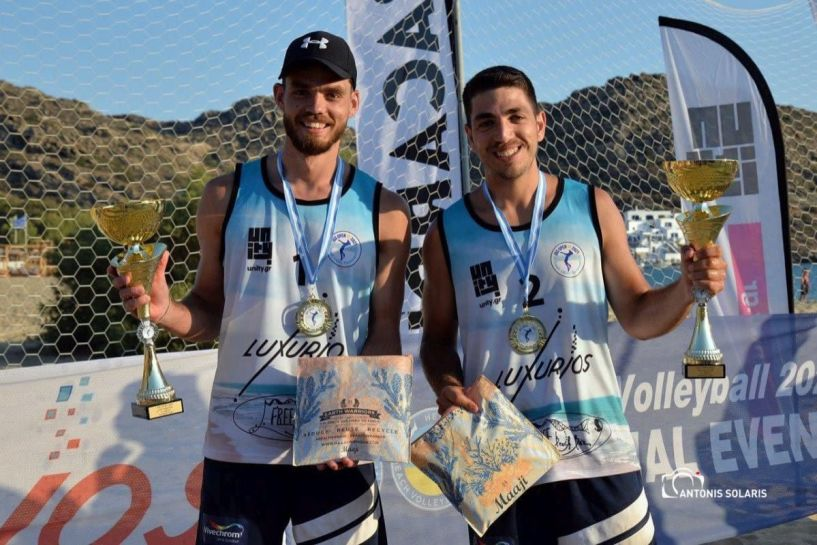 Beach Volley: Πρωταθλητής στο IOS LUXURIOS GRAND SLAM ο παίκτης του Φιλίππου Βέροιας, Γιώργος Μιχελάκης