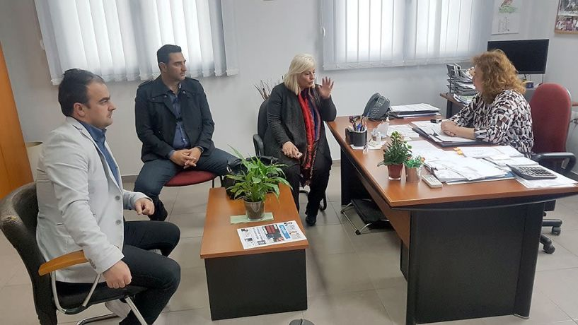 ΕΛΓΑ και Κέντρο Μέριμνας Ατόμων με Ειδικές Δεξιότητες (ΚΕ.Μ.Α.Ε.Δ.) επισκέφθηκε η Γεωργία Μπατσαρά
