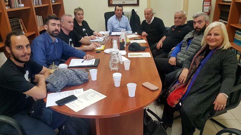 Με την διοίκηση της Ευξείνου Λέσχης Βέροιας συναντήθηκε η Γεωργία Μπατσαρά