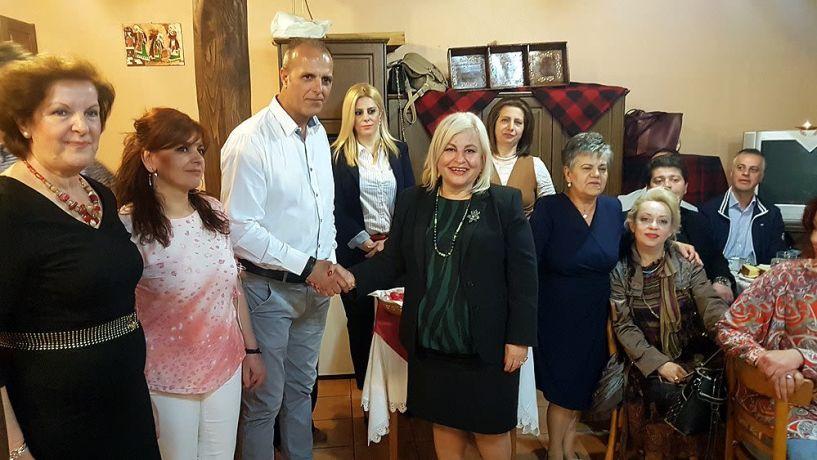 Γεωργία Μπατσαρά: Από τους κορυφαίους ο Σύλλογος Βλάχων Βέροιας