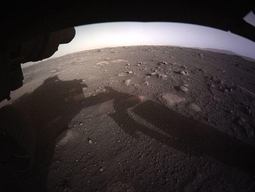 Perseverance: Οι πρώτες υψηλής ανάλυσης φωτογραφίες από την αποστολή στον Άρη