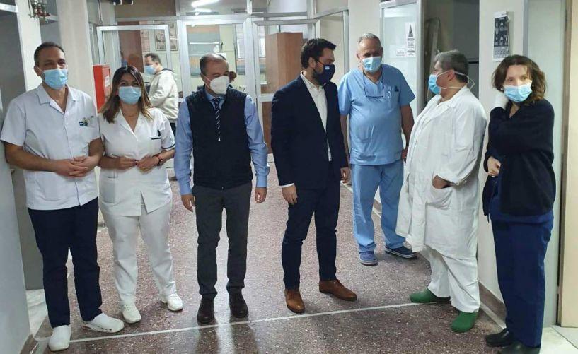 Στα νοσοκομεία Βέροιας & Νάουσας ο Τάσος Μπαρτζώκας: Ενεργός ο ρόλος του στη νέα εποχή της υγειονομικής περίθαλψης στην Ημαθία (Εικόνες)