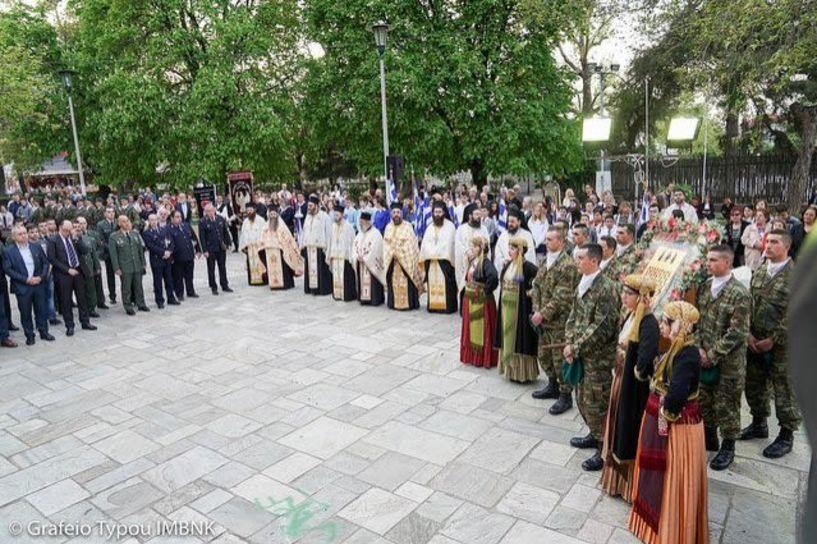 H 196η επέτειος του Ολοκαυτώματος γιορτάστηκε  στη Νάουσα