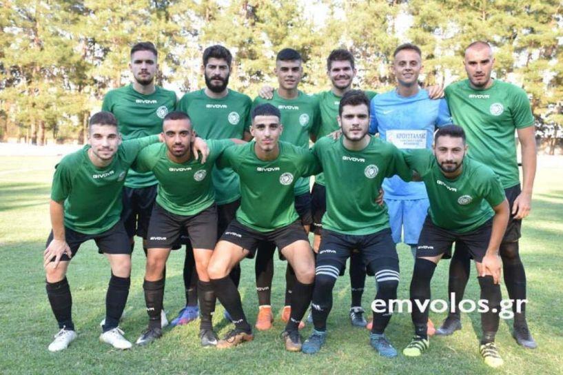 Καλή εμφάνιση για τα Τρίκαλα παρά την ήττα στην Καρίτσα με 1-0.