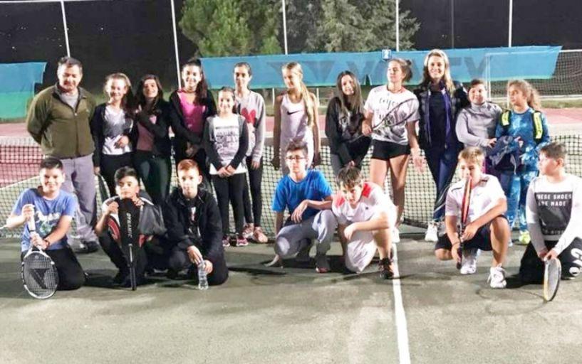Διακρίσεις στην κατηγορία junior στον Όμιλο Αντισφαίρισης Βέροιας