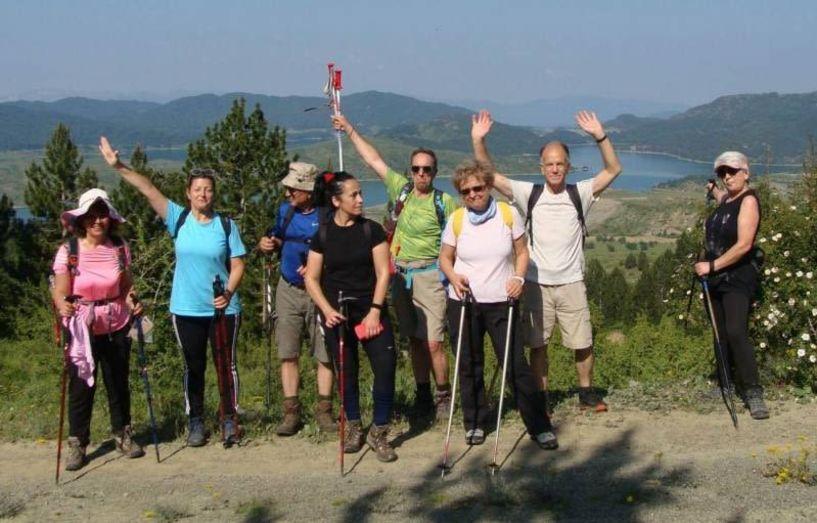 Με τους Ορειβάτες Βέροιας στο Μαυροβούνι, στην κορυφή Φλέγγα