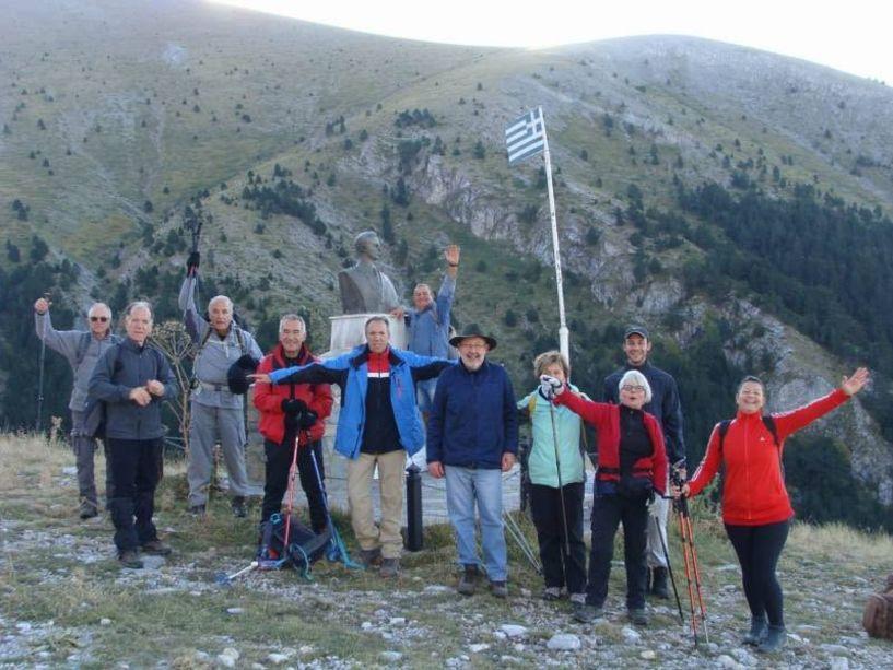 Με τους Ορειβάτες Βέροιας στην κορυφή Καλόγερος
