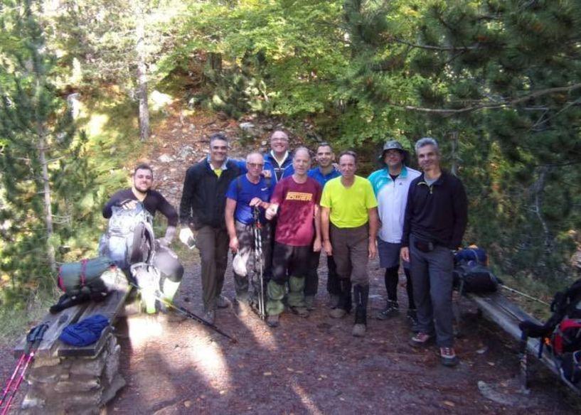 Με τους Ορειβάτες Βέροιας στην κορυφή Σκούρτα στον Όλυμπο
