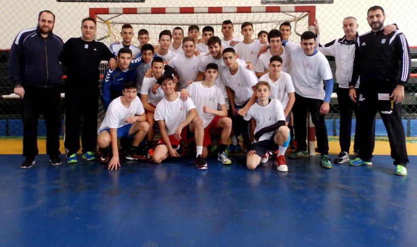 Τέσσερις παίδες του Φιλίππου στην Εθνική ομάδα χαντ μπολ