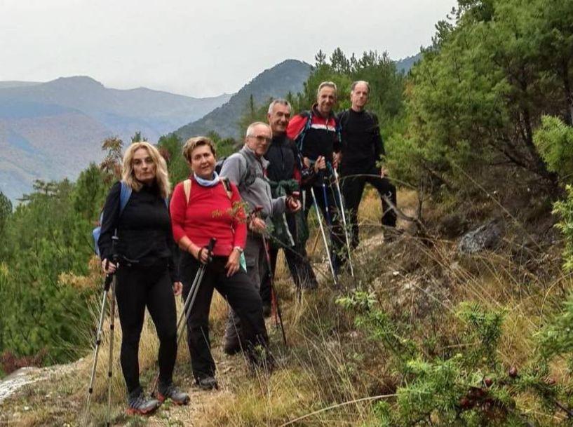 Με τους Ορειβάτες Βέροιας στην κορυφή Πανόραμα στα Λουτρά Πόζαρ