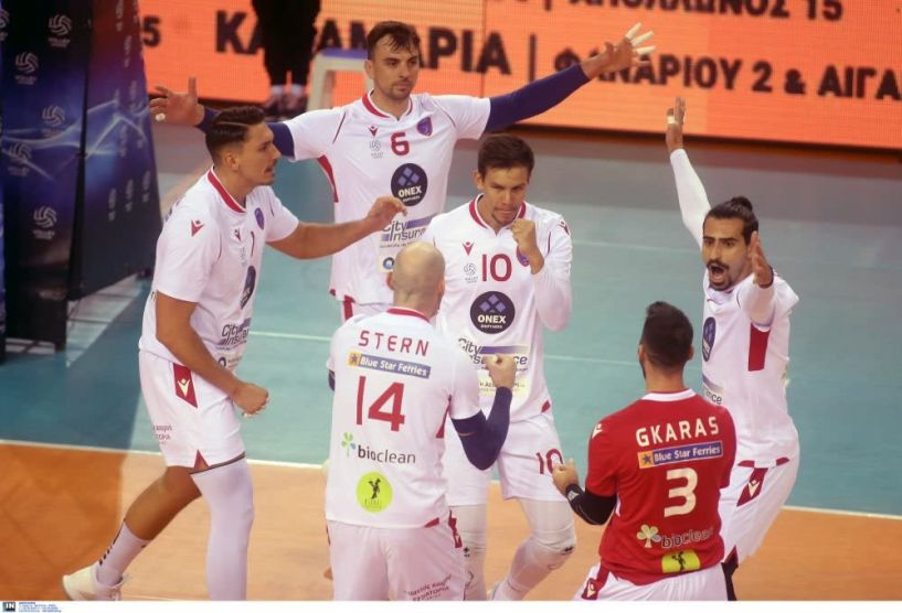 Volleyleague Μεγάλος νικητής ο Φοίνικας Σύρου 2-3 τον ΠΑΟΚ στην Πυλαία