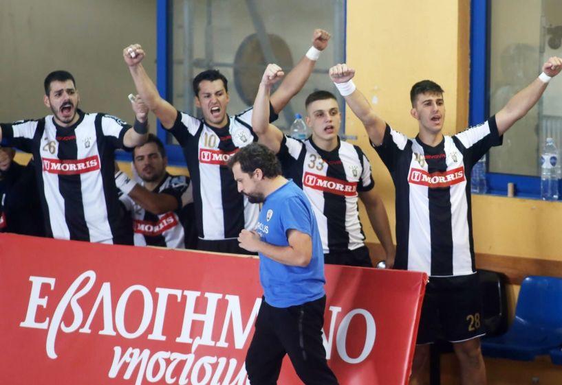 Με νίκη πέρασε ο ΠΑΟΚ από την Νάουσα 22-29 τον Ζαφειράκη