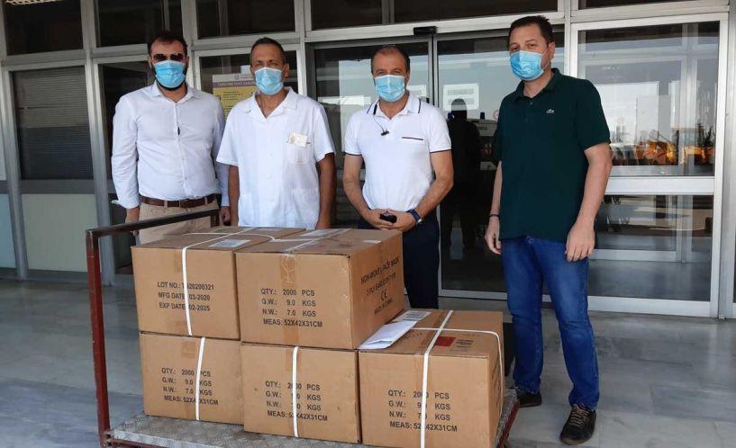 10.000 μάσκες από την εταιρεία ΠΑΠΑΣΤΡΑΤΟΣ στο νοσοκομείο Βέροιας - Ηλίας Πλιόγκας: