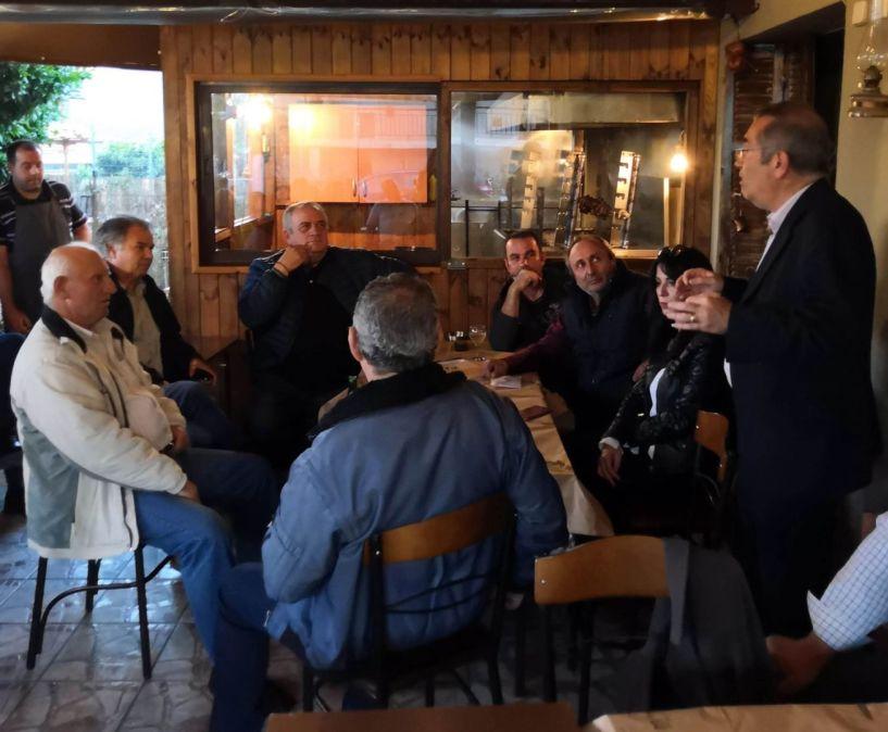Ο υποψήφιος δήμαρχος  Βέροιας Παύλος Παυλίδης και οι «ΣΥΝΔΗΜΟΤΕΣ» στα Ασώματα