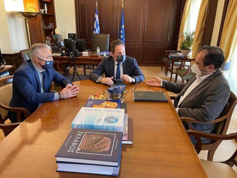 Συνάντηση Πέτσα-Βοργιαζίδη για θέματα του Δήμου Βέροιας