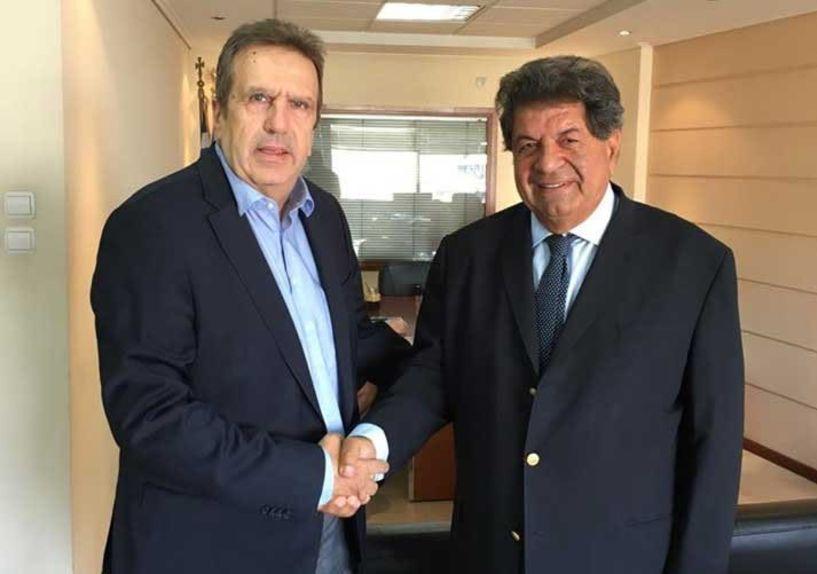 Συνάντηση του Προέδρου της ΕΣΕΕ κ. Γ. Καρανίκα με τον Συνήγορο του Καταναλωτή κ. Λ. Ζαγορίτη