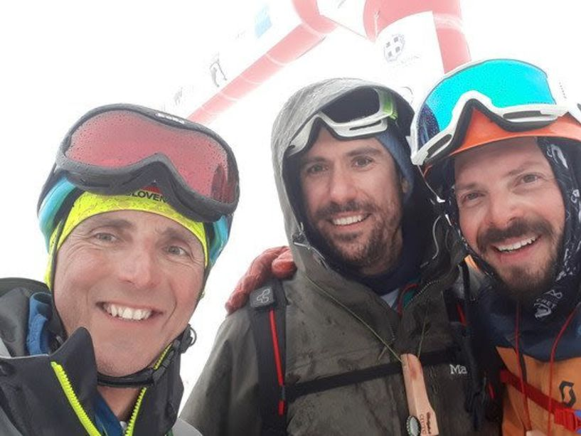 """Συμμετοχή Ναουσαίων στο Νοτιότερο αγώνα Ορειβατικού σκι στην Ευρώπη  : """" PIERRA CRETA 2019""""."""