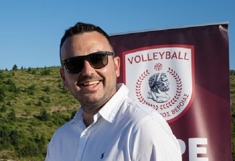 Συνέντευξη του Δημήτρη Πιτούλια, προέδρου του Φίλιππου Βέροιας Volleyball (Εικόνες)
