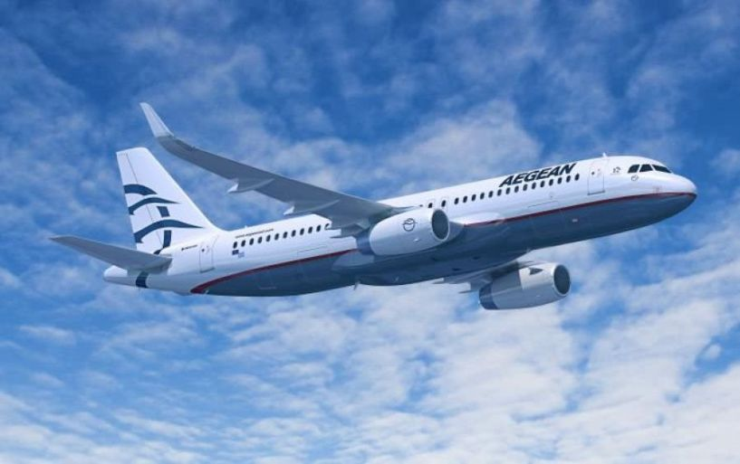 Περιπέτεια στον αέρα για πτήση της Aegean!