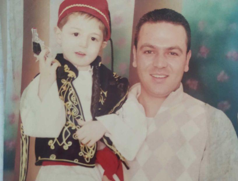 Ο Ευθύμης Βρόντζος με το γιο του για πάντα μαζί στην γειτονιά των αγγέλων
