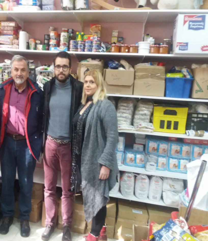Επιτυχημένη η 1η διανομή προϊόντων του Κοινωνικού Παντοπωλείου δήμου Βέροιας
