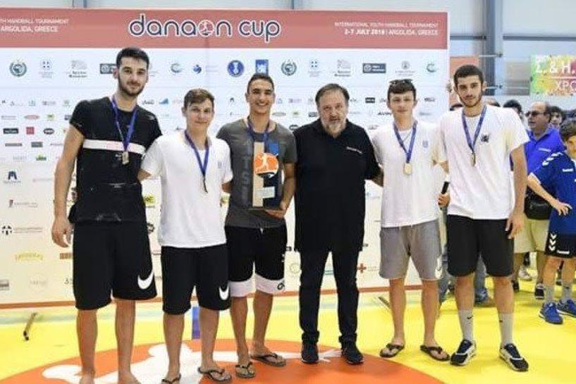 «Χρυσοί» οι Έλληνες έφηβοι στο Danaon Cup. MVP ο Δεληχρήστος
