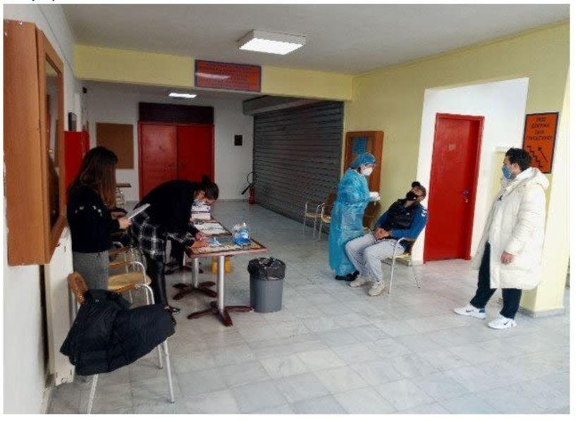 Δήμος Βέροιας: Rapid tests πραγματοποιήθηκαν σε υπαλλήλους όλων των Τμημάτων του ΚΑΠΑ