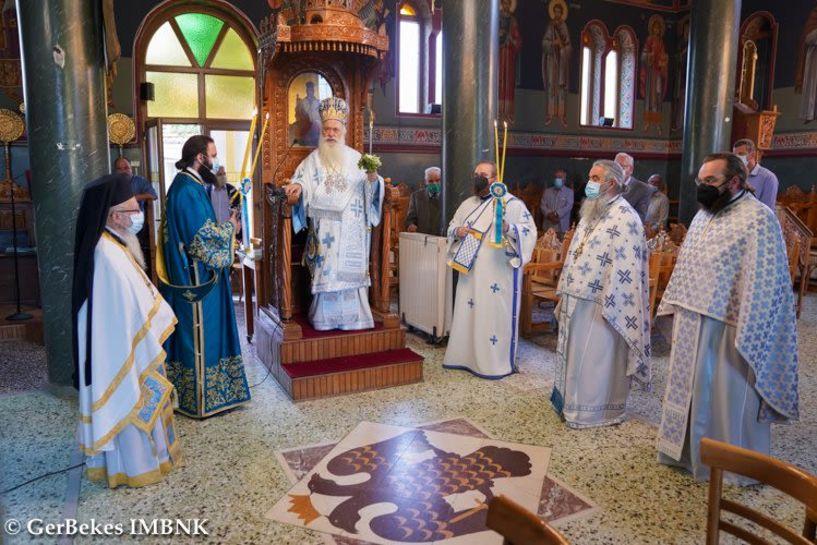 Λειτουργία του Μητροπολίτη την Κυριακή (12/9) στη Ραχιά και Χειροθεσία Αρχιμανδρίτη