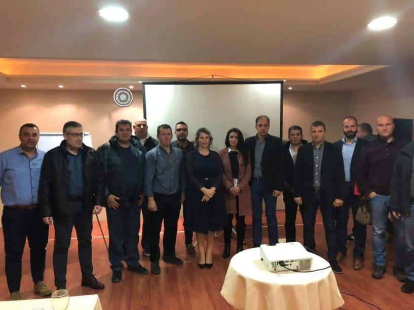Με την υφ. Προστασίας του Πολίτη Κ. Παπακώστα συναντήθηκε το Δ.Σ. της Πανελλήνιας Ομοσπονδίας Συνοριακών Φυλάκων