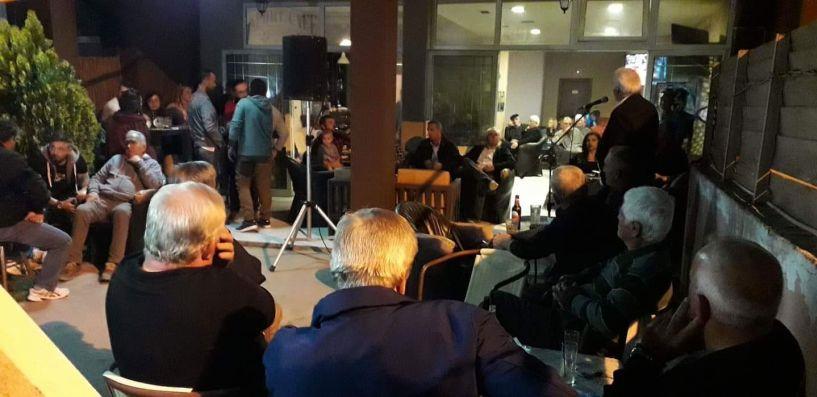Ο υποψήφιος Δήμαρχος Δήμου Αλεξάνδρειας Μιχάλης Χαλκίδης στην Καβάσιλα, την Ξεχασμένη και το Κεφαλοχώρι