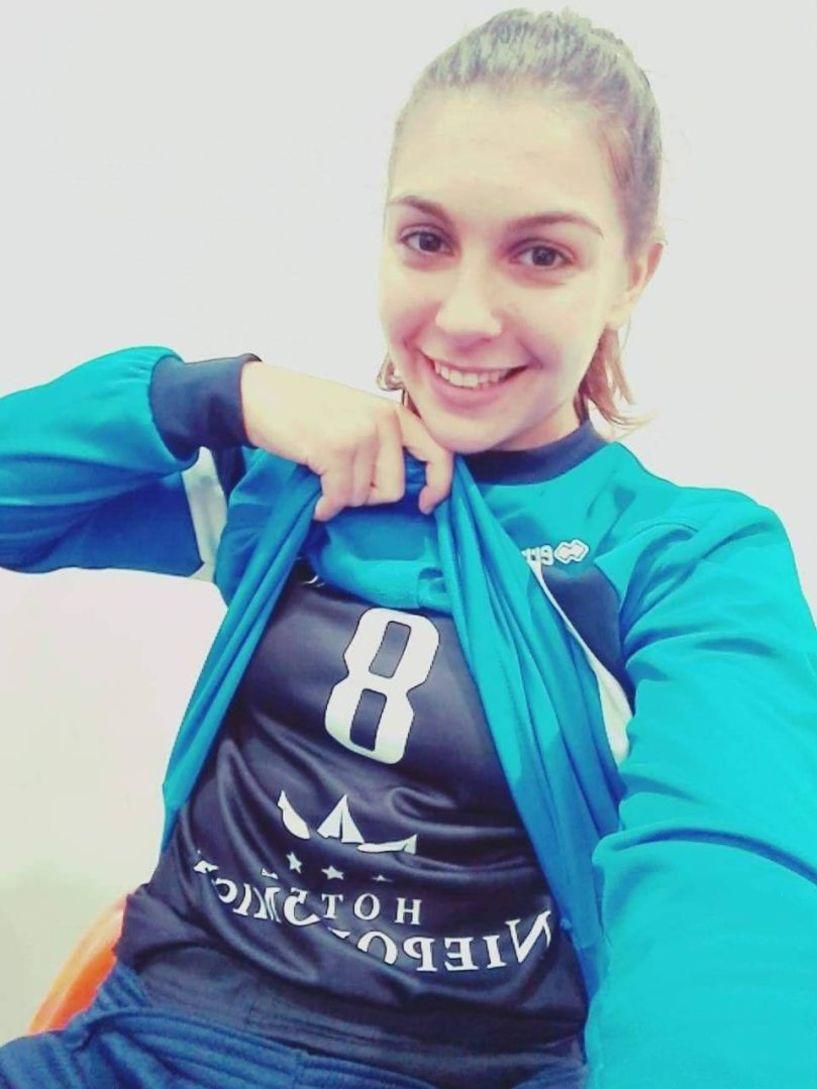 Η χαλκιδικιώτισσα αθλήτρια Αρνάκη Ελισσάβετ με καριέρα στο εξωτερικό, στον  ΓΑΣ ΑΛΕΞΑΝΔΡΕΙΑ! - Φωτό