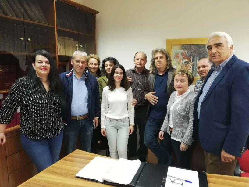 Το ΙΚΑ  και τον ΟΑΕΔ Αλεξάνδρειας επισκέφθηκε ο Μιχάλης Χαλκίδης
