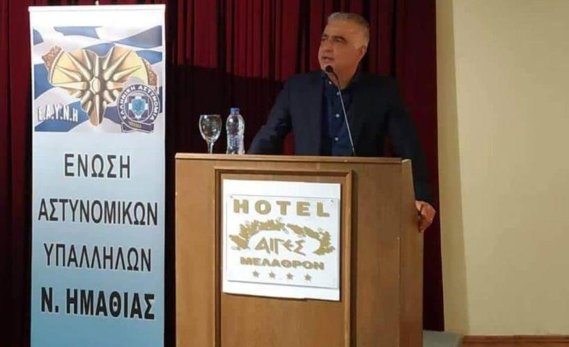 Λάζαρος Τσαβδαρίδης:  «Έκτακτη οικονομική ενίσχυσης των εργαζομένων Αστυνομικών της χώρας εν μέσω υγειονομικής κρίσης»