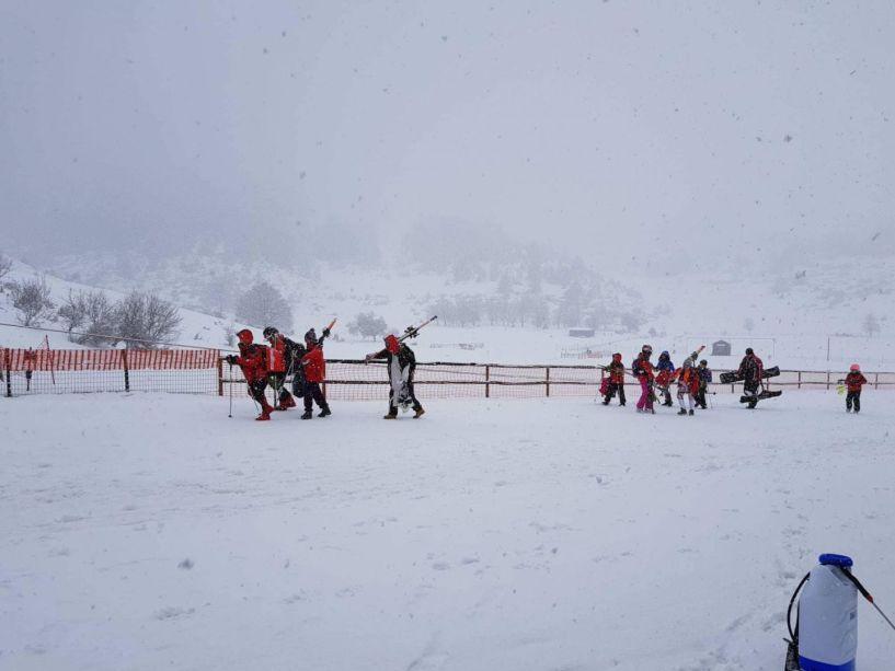 Συνεχίζεται η πυκνη χιονόπτωση στο Σέλι-ομαλή η κατάσταση-σημερινές φωτογραφίες