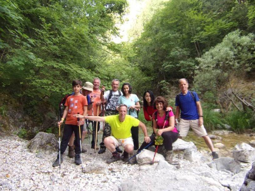 Με τους Ορειβάτες Βέροιας στο ρέμα Ορλιά στον Όλυμπο