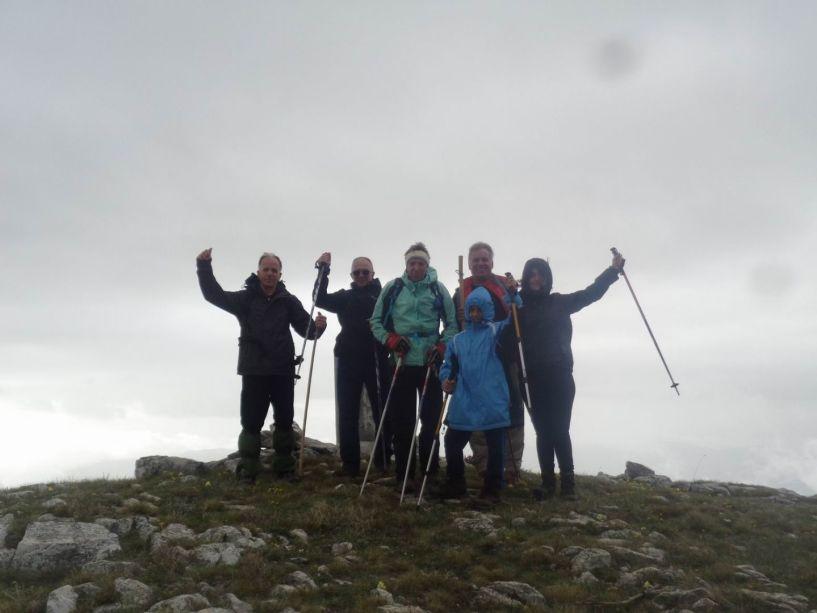 Ανάβαση στην Κορυφή (Αγκάθι) Βερμίου με τους ορειβάτες Βέροιας