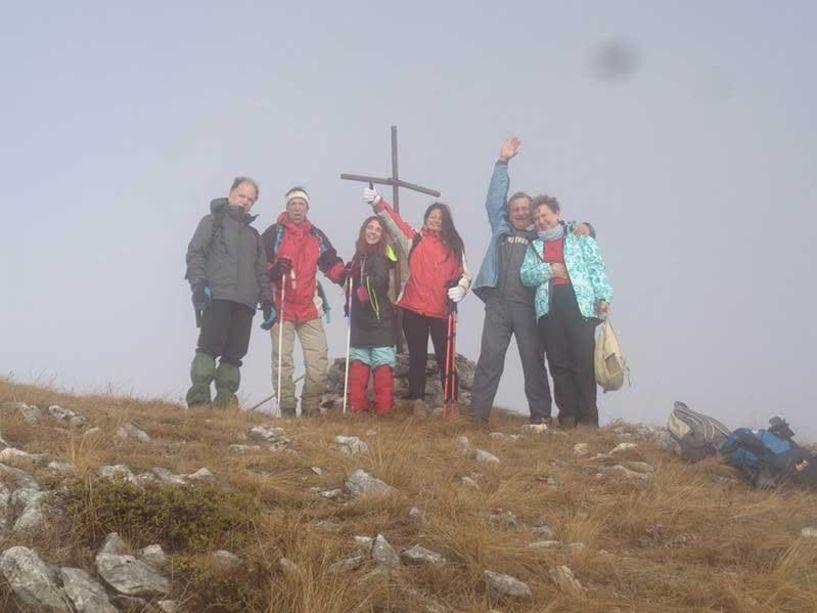 Στην Κορυφή Ξηροβούνι 1806 μέτρων με τους Oρειβάτες Βέροιας