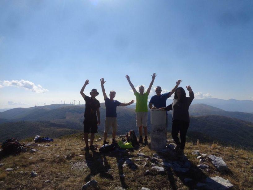 Στην κορυφή Στουρνάρι Βερμίου με τους Ορειβάτες Βέροιας