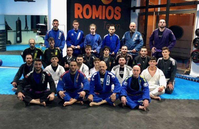 Διεξήχθη εκπαιδευτικό σεμινάριο Brazilian Jiu-Jitsu από τον Ρωμιό
