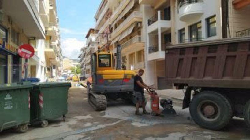 Διακοπή νερού από βλάβη κατά τις εργασίες της ΔΕΥΑΒ σε Σκρά και Καρατάσου- Προσπάθεια αποκατάστασης μέχρι το βράδυ