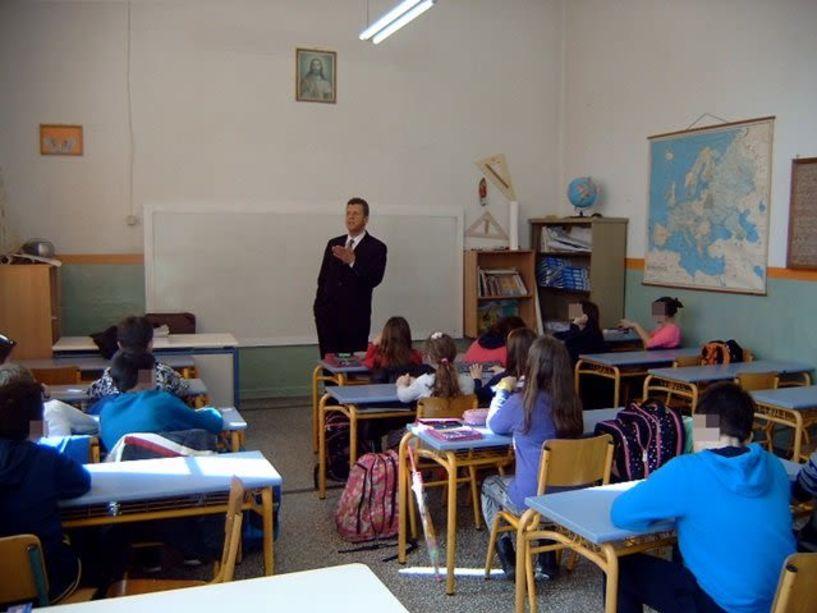 Πιστοποιητικό συνεργαζόμενου σχολείου με την Unesco στο 5ο Δημοτικό Σχολείο  Νάουσας