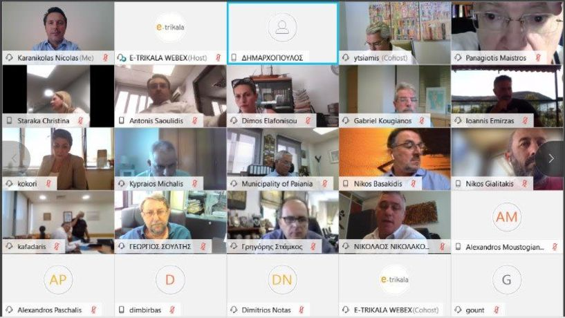 Συμμετοχή Δημάρχου Νάουσας στην Επιτροπή Οργάνωσης και Ηλεκτρονικής Διακυβέρνησης της ΚΕΔΕ