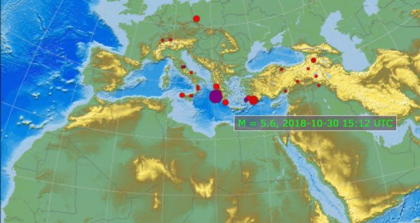 Νέος ισχυρός σεισμός στη Ζάκυνθο!