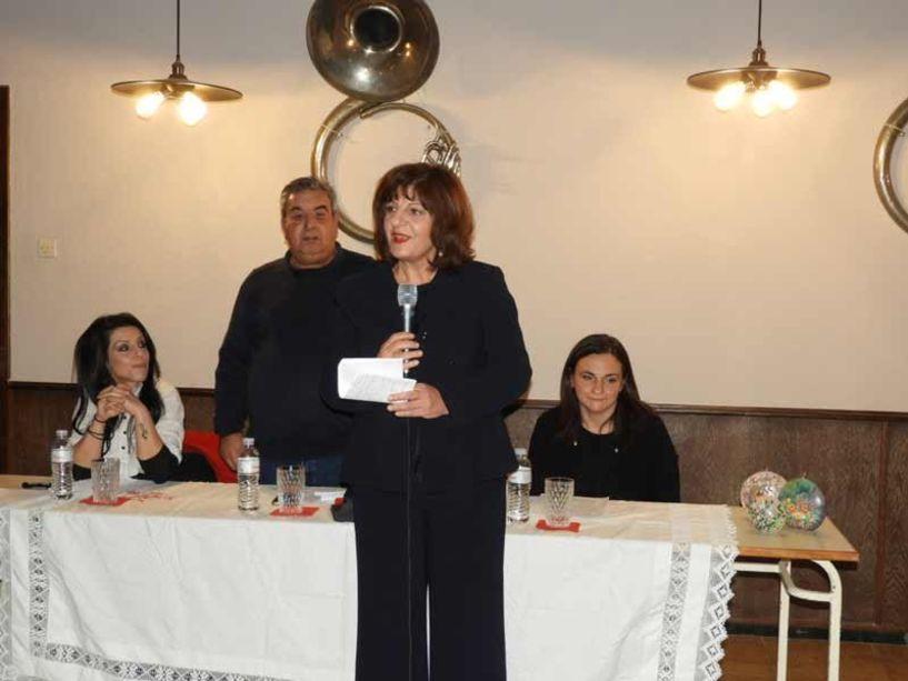 Στην εκδήλωση του ΣΟΦΨΥ Ημαθίας για την Ψυχική Υγεία, η Φρόσω Καρασαρλίδου