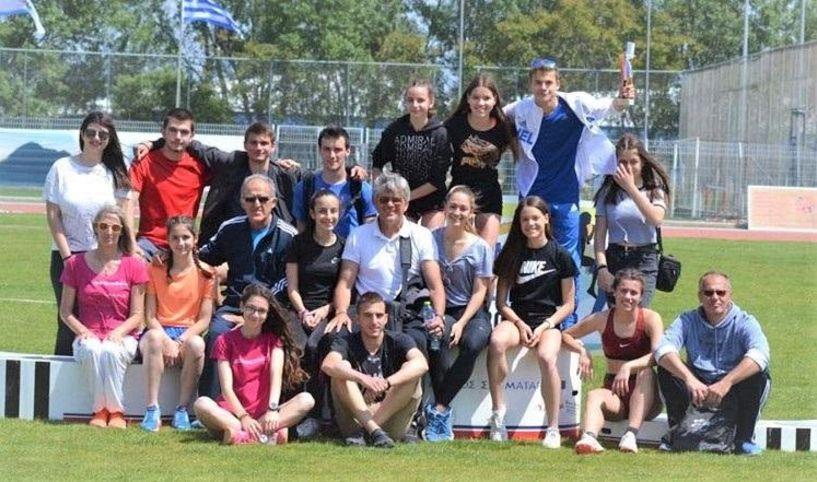 Ένα χρυσό και τρία αργυρά μετάλλια στους πανελληνίους αγώνες στίβου από  μαθητές σχολείων της Ημαθίας
