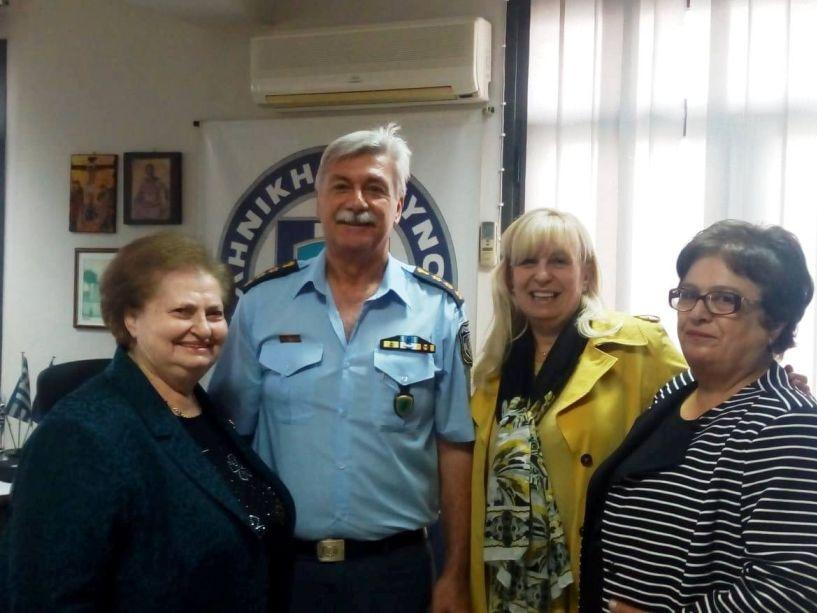 Συνάντηση αντιπροσωπείας του «Έρασμου» με το νέο Αστυνομικό Διευθυντή Ημαθίας Δ. Κούγκα
